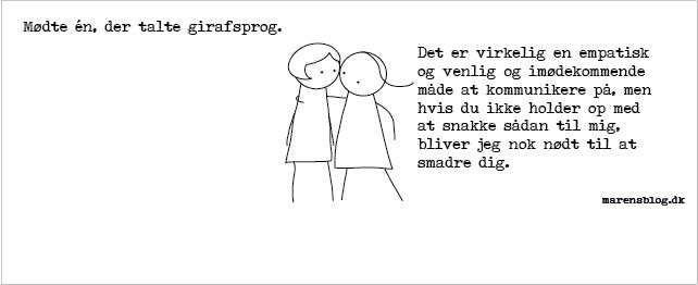"""Girafsprog"" - covers til facebook - www.marensblog.dk"