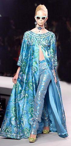 Christian Dior by John Galliano Resort 2008 Fashion show