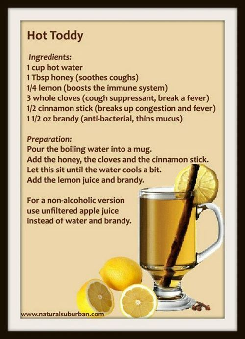 Drink Recipes To Help With Colds