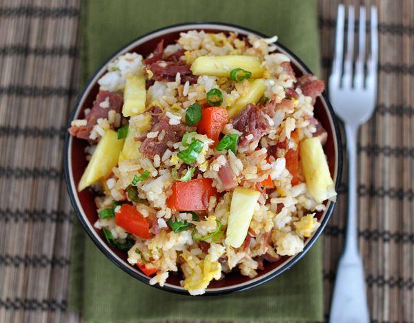 Hawaiian Fried Rice | Mel's Kitchen Cafe