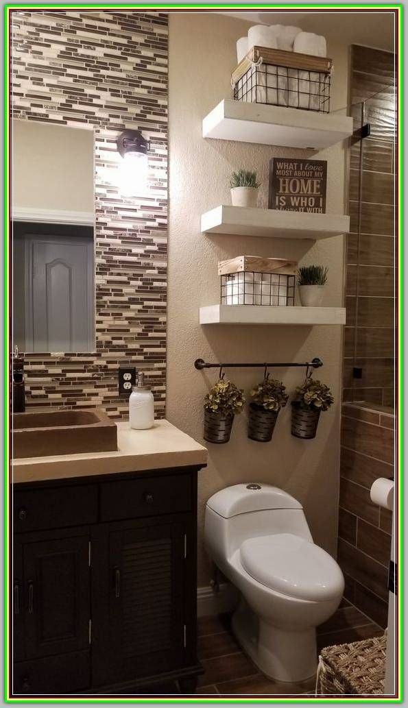 Make Your Home Beautiful With These Bathroom Interior Design Tips Modern Interior Design Brown Bathroom Decor Guest Bathroom Decor Bathroom Decor Apartment