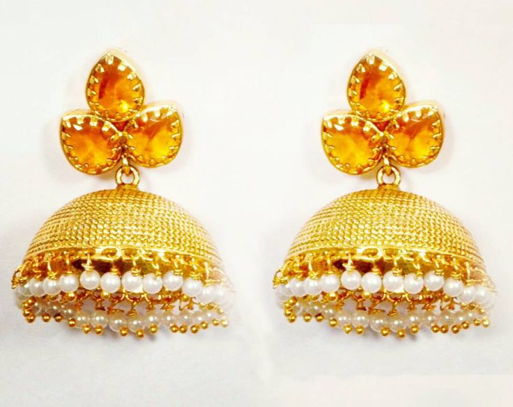 Indian Jhumkas(Earrings) for the festive season... #awesome #beautiful #christmas #dashing #elegant #fashion #glamour #handmade #indianjewellery #jewelry #kool #lookgood #mesmerising #new #owsome #partywear #queen #real #superb #turntheheads #uk #vikings #wonderful #xmas #yearn4it #zingy