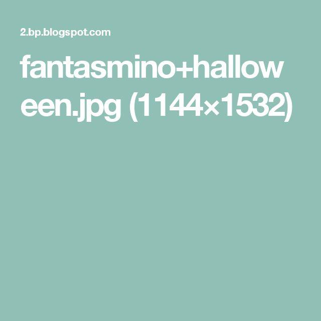 fantasmino+halloween.jpg (1144×1532)