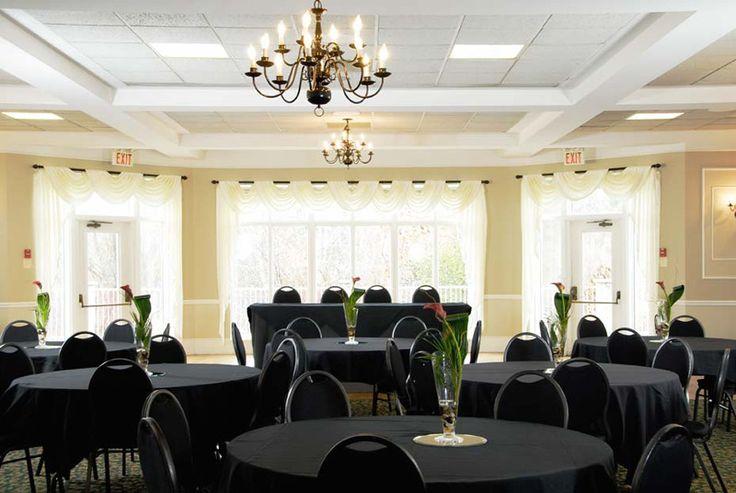The Grand Ballroom is ready for business. www.elmhurstinn.com