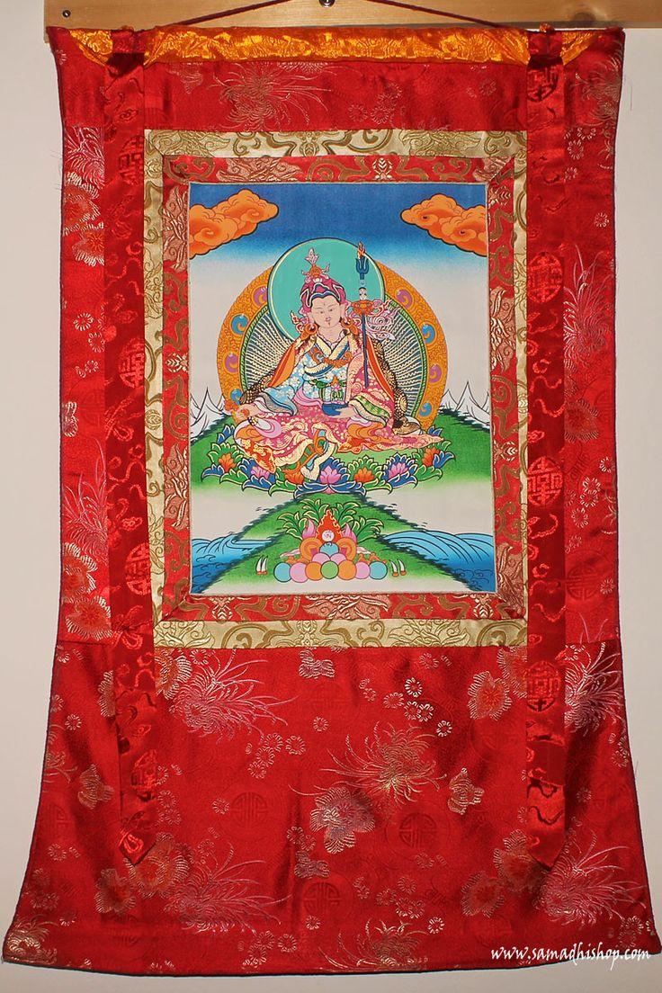 Padmasambhava (Guru Rinpoche) thangka