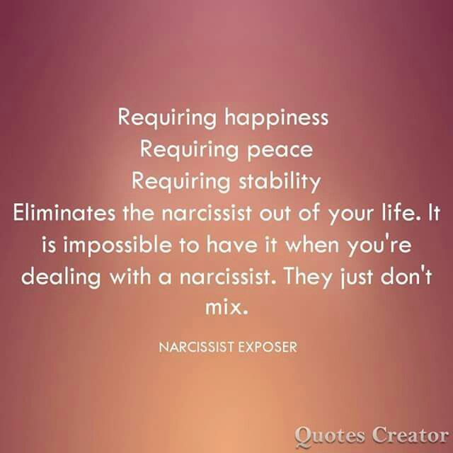 How To Stay Away From A Narcissist
