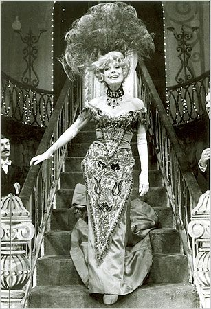 Hello Dolly - featuring the lovely Miss Carol Channing, she was excellent in this musical.