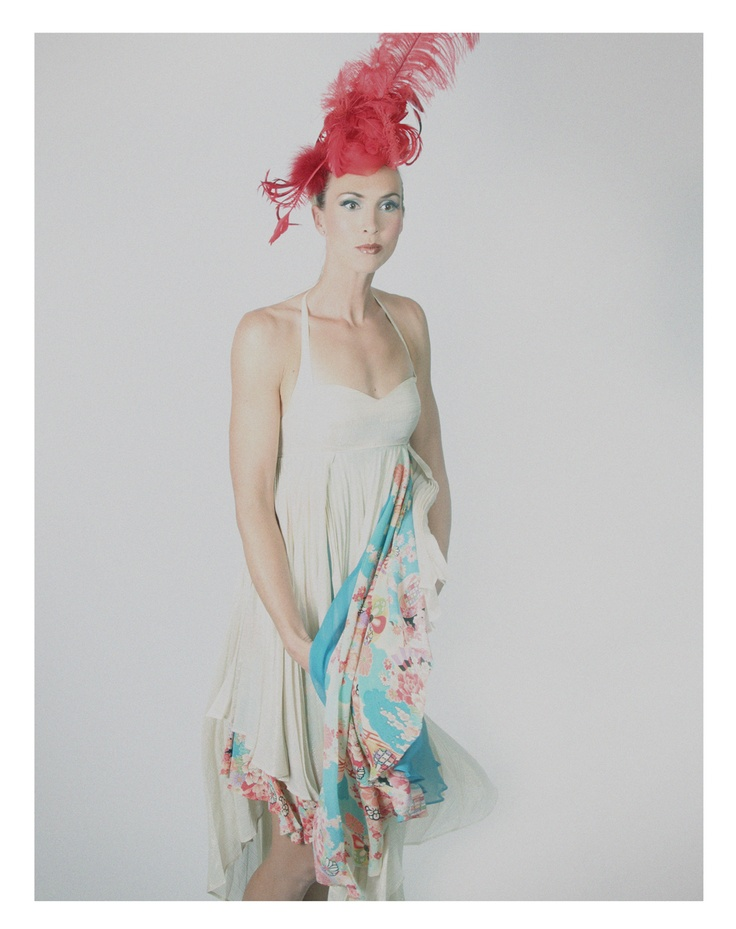 """Make your donation today to support Sports for All at Corams Fields (www.coramsfield.org) new.thebiggive.or.... Model: Triple Olympian Tamsin Hinchley; Dress: Justine Davis; Millinery """"Maria"""" by Steve Harrison; Photographer: Caron Westbrook; Project Director: Leesa Soulodre; Stylist: Nina Sobers; Stylist Assistant: Rajmund Bednorz; Hair Designer: Kasia Fortuna; Makeup: Jasmine Mathieson; Retouching: Marvin Joseph. Please repin to show your support!"""