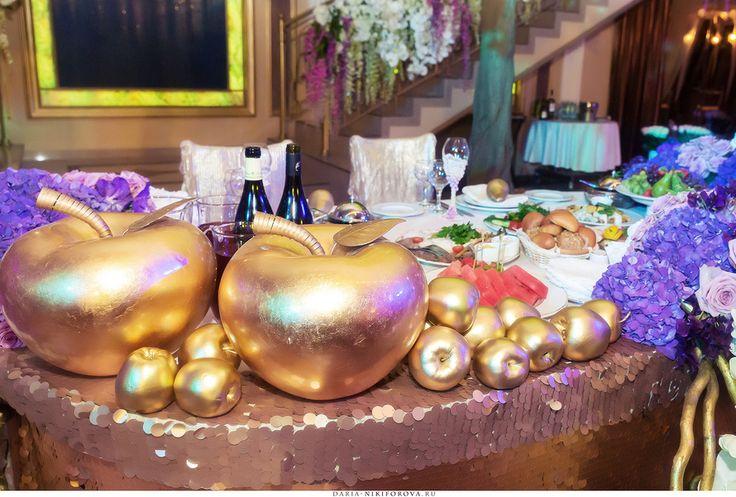 Свадьбы в золотом цвете gold wedding