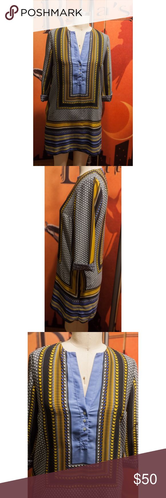 """Zara Tunic/Dress Size M/6 20% off Labor Day sale LABOR DAY SALE BUY 2 OR MORE ITEMS GET 20% OFF! I'm selling a nice condition, medium sized(fits like a 6), Zara Tunic from a few years ago. Was in the dress section, so technically can be worn as one. For length reference I'm 5'7"""" and it comes a little above my knees. Always received comments when worn just not my style anymore. Three quarter sleeves with sewn in cuff. Has pockets but don't expect to put too much in them haha. Condition…"""