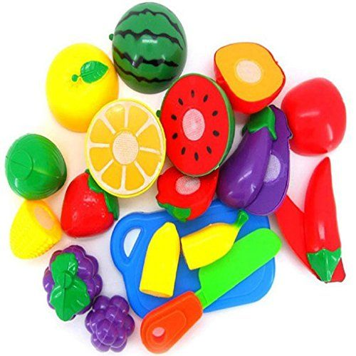 Hatop 1Set Cutting Fruit Vegetable Pretend Play Children Kid Educational Toy >>> Find out more about the great product at the image link.