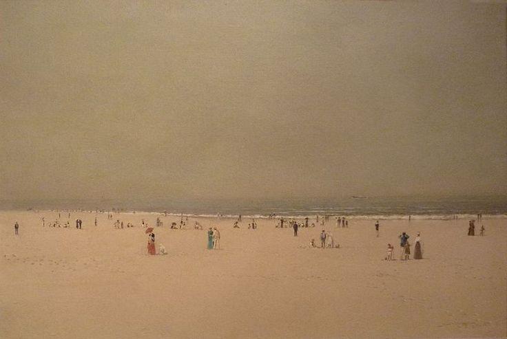 John Atkinson Grimshaw -- Scarborough Beach