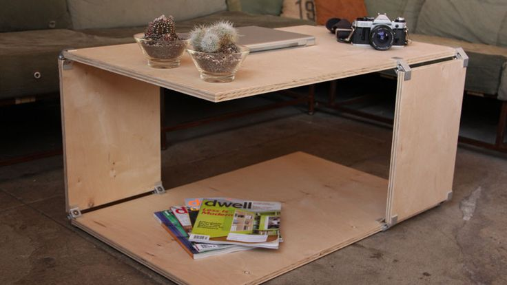 easy way to build a coffee table 3