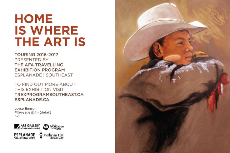 Home is where the art is - TREX Region 4 Exhibition