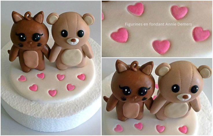 weeding cake topper https://www.facebook.com/figurinesanniedemers