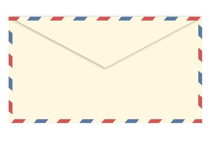 Airmail envelope clipart - ClipartFest