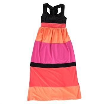 Disorderly Kids Girls 7-16 Color Block Maxi Dress #VonMaur #Disorderly #ColorBlocked