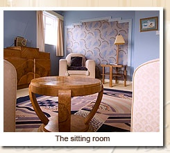 Burgh Island Hotel  - Mermaid room