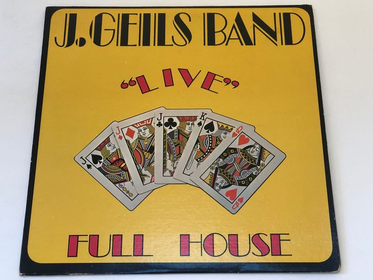 J Geils Band Live Full House Whammer Jammer Blues Rock