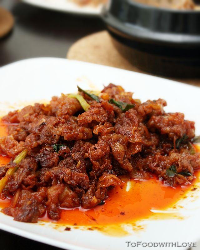 To Food with Love: Dwaeji Bulgogi (Korean Spicy Marinated ...