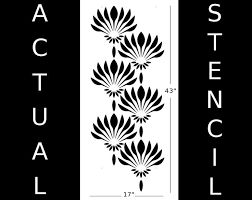 Image result for art deco stencils, flowers