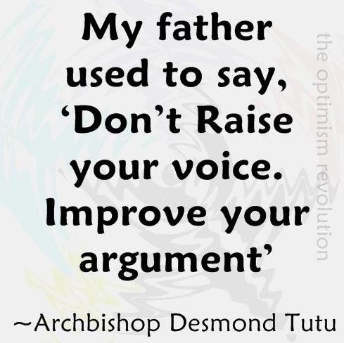 High Clarity value talking. (commentary via The Voice Bureau | AbbyKerr.com)
