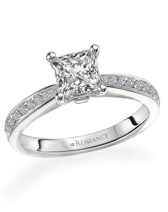 princess solitaire ring by romance more from romance http