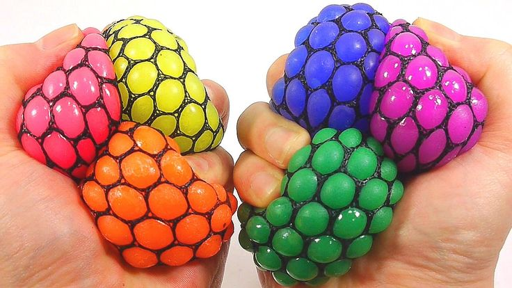 DIY Change Colors Squishy Stress Ball How To Make 'Slime Balloons Ball' ...