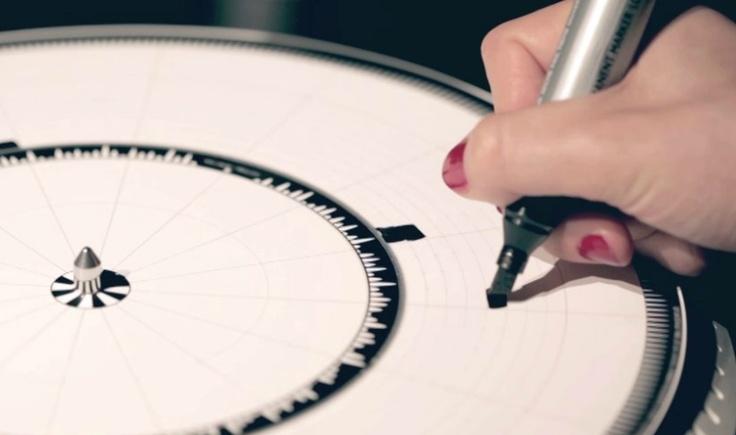 Ame Design - amenidades do Design . blog: DYSKOGRAF: o tocador de disco gráfico