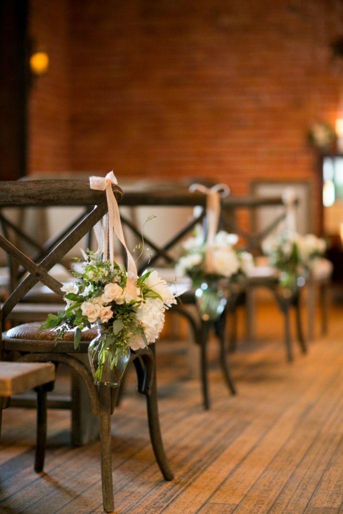 8 maneras creativas de decorar el pasillo de la ceremonia de boda. Foto-Mi Belle Photography