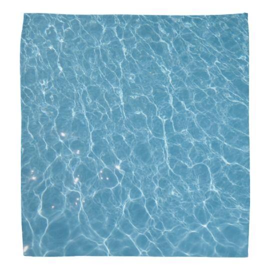 #zazzle #Pool #Bandana #blue #head #gift #giftidea