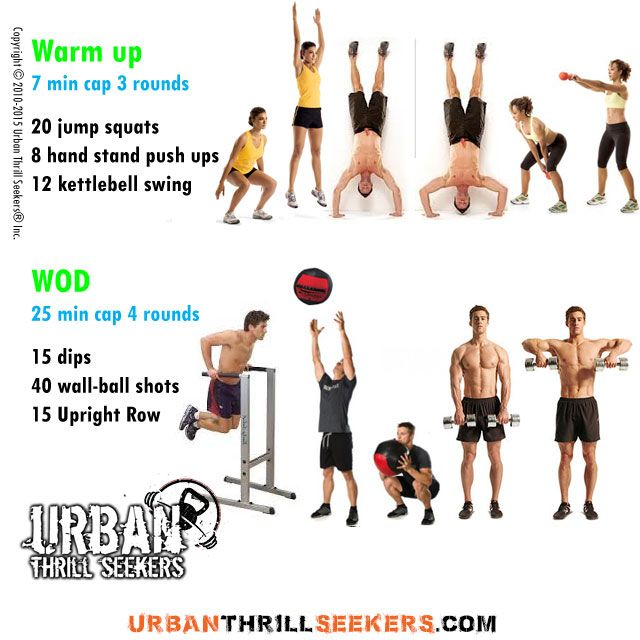 Bosu Ball Burpee Jump: 20 Jump Squats, 8 Hand Stand Push Ups, 12 Push Ups, 15