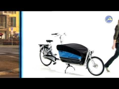 GAZELLE CABBY, trasporto in bici all'olandese