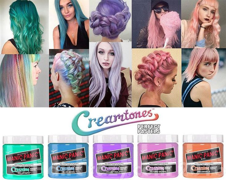 manic panic velvet violet - Google Search -- These would be so fun for Abbie with her naturally blonde hair!!