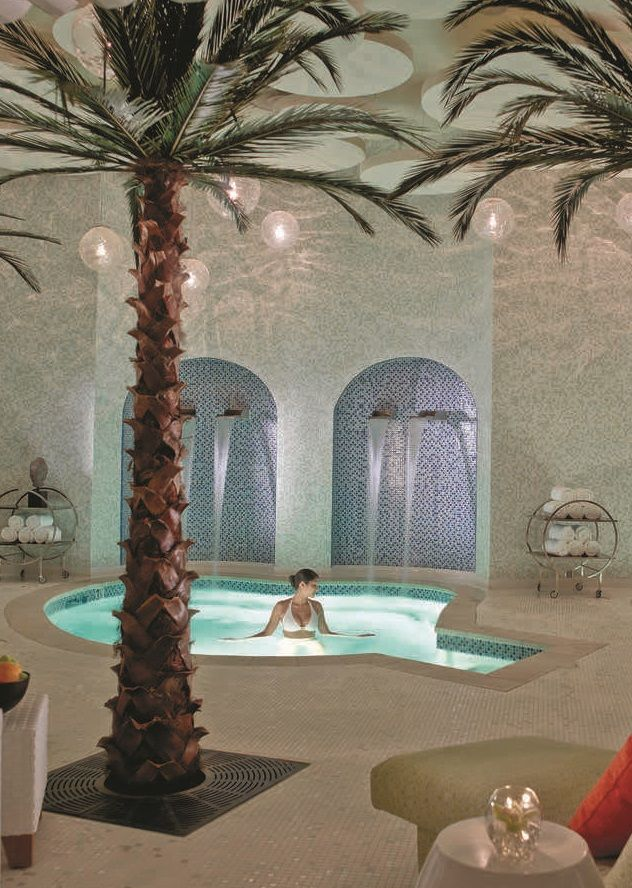 After shopping up a storm in Palm Springs, soothe with a spa break at SpaTerre at the Riviera Palm Springs.