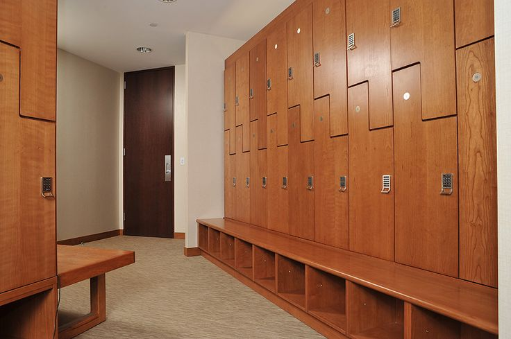 Hollman Laminate Lockers With Built In Bench Modern