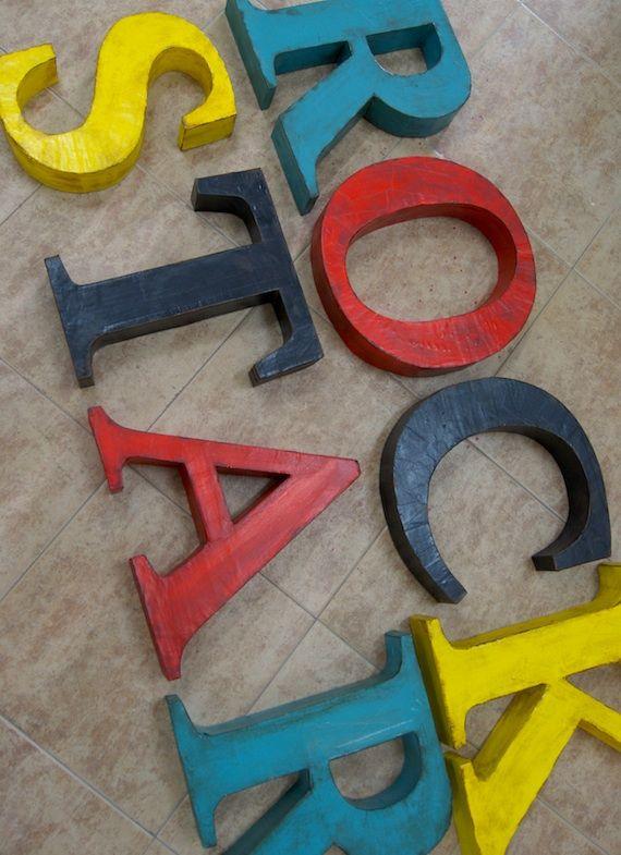 letras la factora plstica