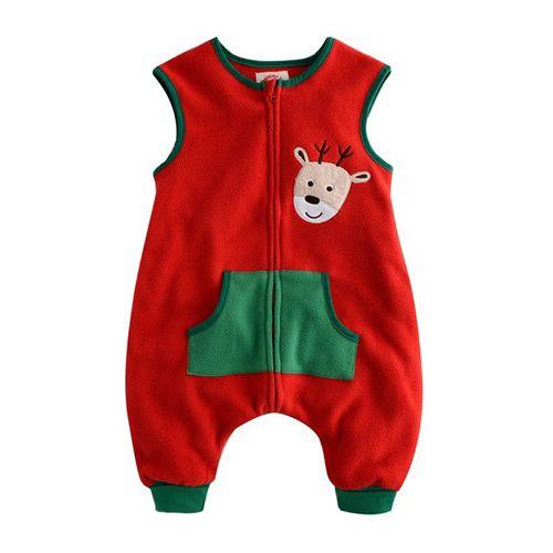 Christmas Rudolf sleep sack for babies