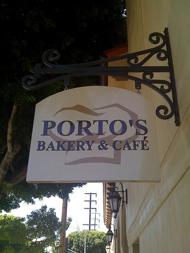 Porto's Bakery & Cafe (Cuban) in Burbank, CA - I love Porto's in Burbank for their chicken croquettes, potato balls and black beans wrapped with banana.