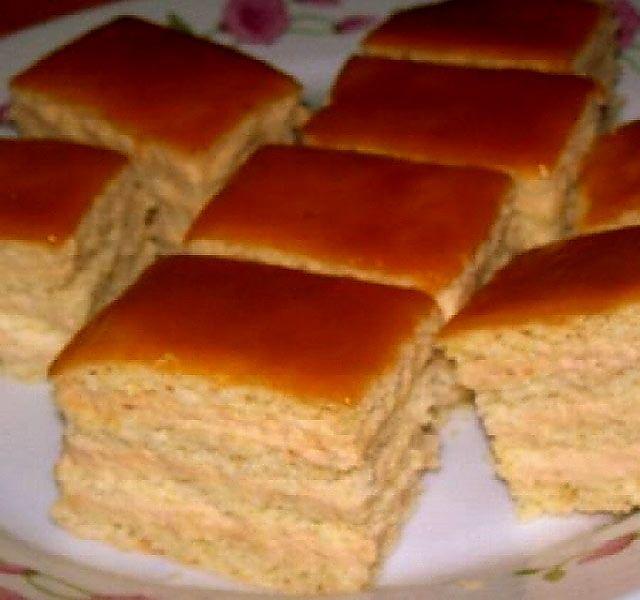 Pöstyényi szelet: karamellás olcsó finomság, családi összejövetelekre csak ezt sütöm!