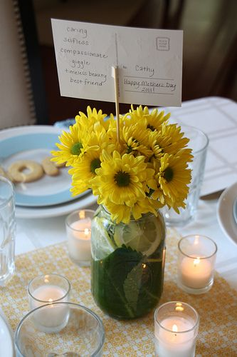 Love this as a centerpiece!Parties Ideas, Events Ideas
