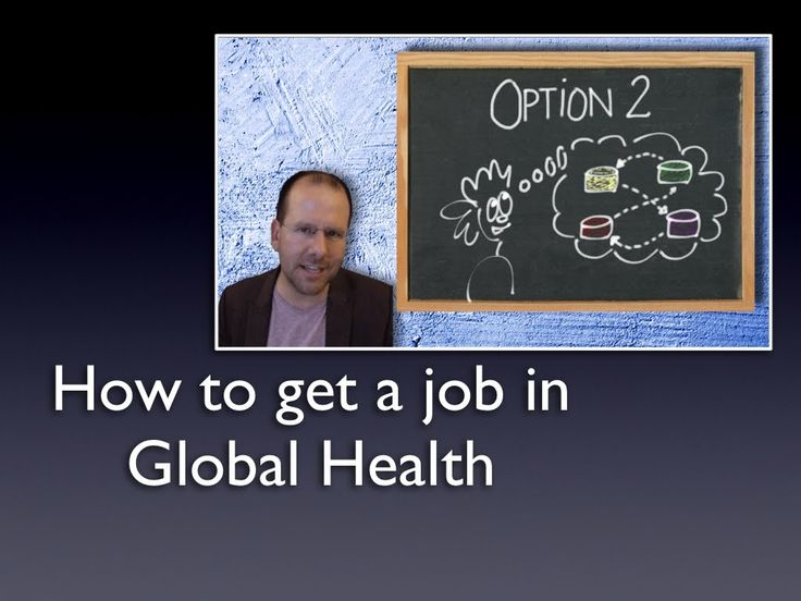 Finding a job in Global Health   Really helps shed some light on GH career concerns.