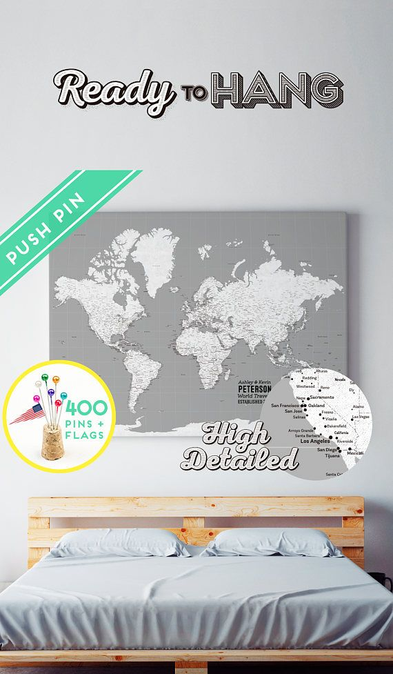 24 best Attache images on Pinterest Fasteners, World maps and - best of world map grey image