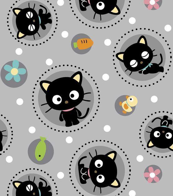 Sanrio Chococat Polka Dot Fleece Fabric