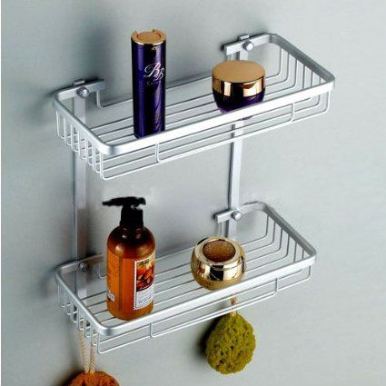 shelf silver ~ http://makerland.org/how-to-find-a-simple-and-versatile-bathroom-shelving-ideas/