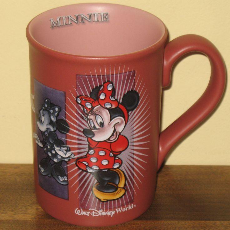 PINK MUG... #MinnieMouse Walt Disney World coffee mug. LOVELY.