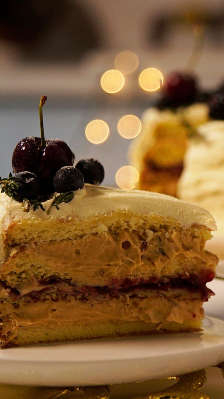 Essa linda torta guirlanda vai fazer a alegria do seus convidados na ceia de Natal!