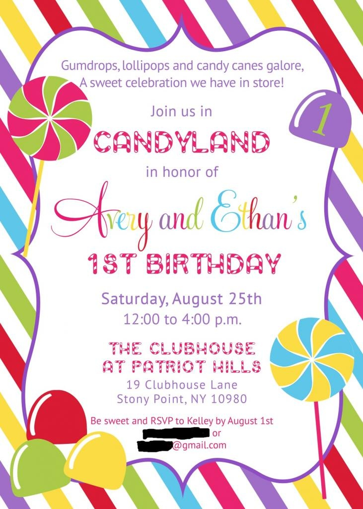 Candy Land Party Theme-already thinking up Romans first birthday, this could be a great theme :D