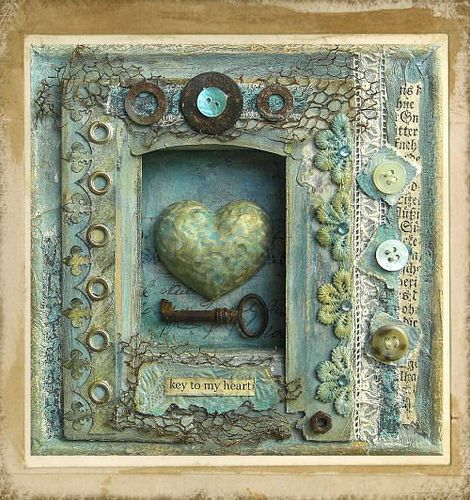 Key To My Heart by saray-viola, via Flickr.  Wow!!  Love her work!!!