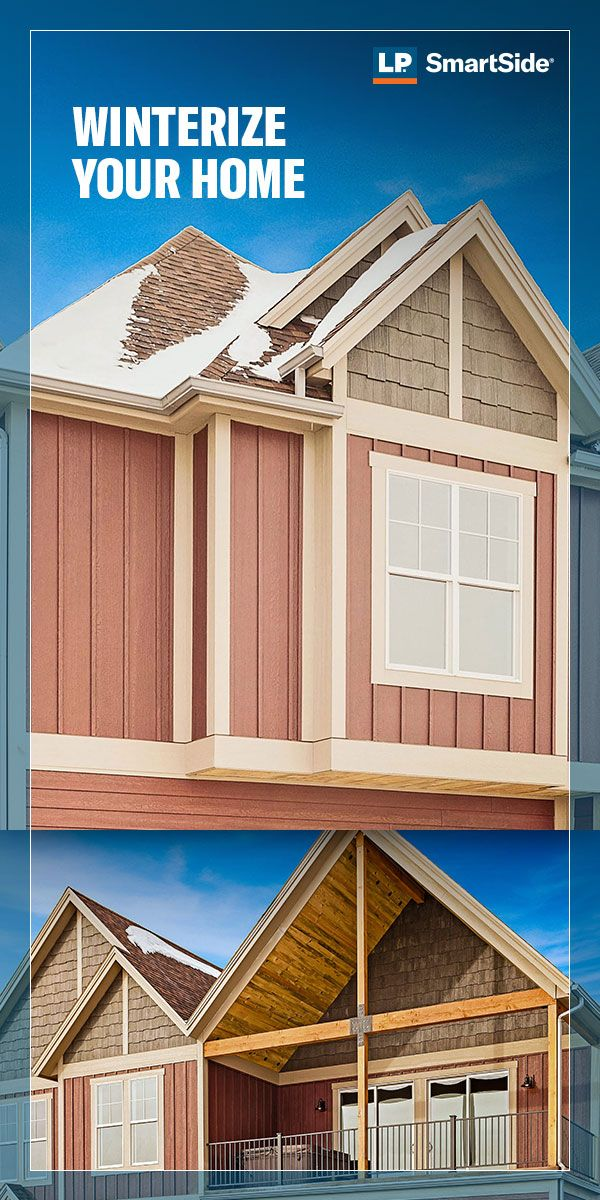Winter Conditions Can Wreak Havoc On A Home If You Don T Take The Right Precautions This Cold Weather Checklis Colonial Style Homes Siding Trim Siding Choices